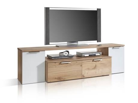 TV- und Hifi-Möbel aus Eiche