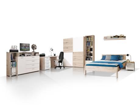 komplett zimmer als jugendzimmer babyzimmer komplett g nstig kaufen. Black Bedroom Furniture Sets. Home Design Ideas