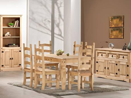 Rotes esszimmer fur intensive einladende atmosphare  Kiefermöbel – Preiswerte Möbel aus Kieferholz hier bei Möbel-Eins kaufen