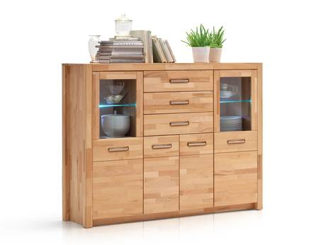 Highboard aus Buche