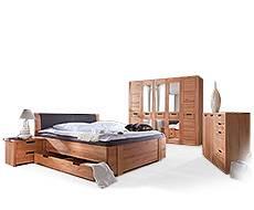 Schlafzimmer aus Buche