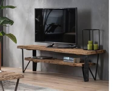 BINKO TV-Lowboard rustikal, Material Massivholz