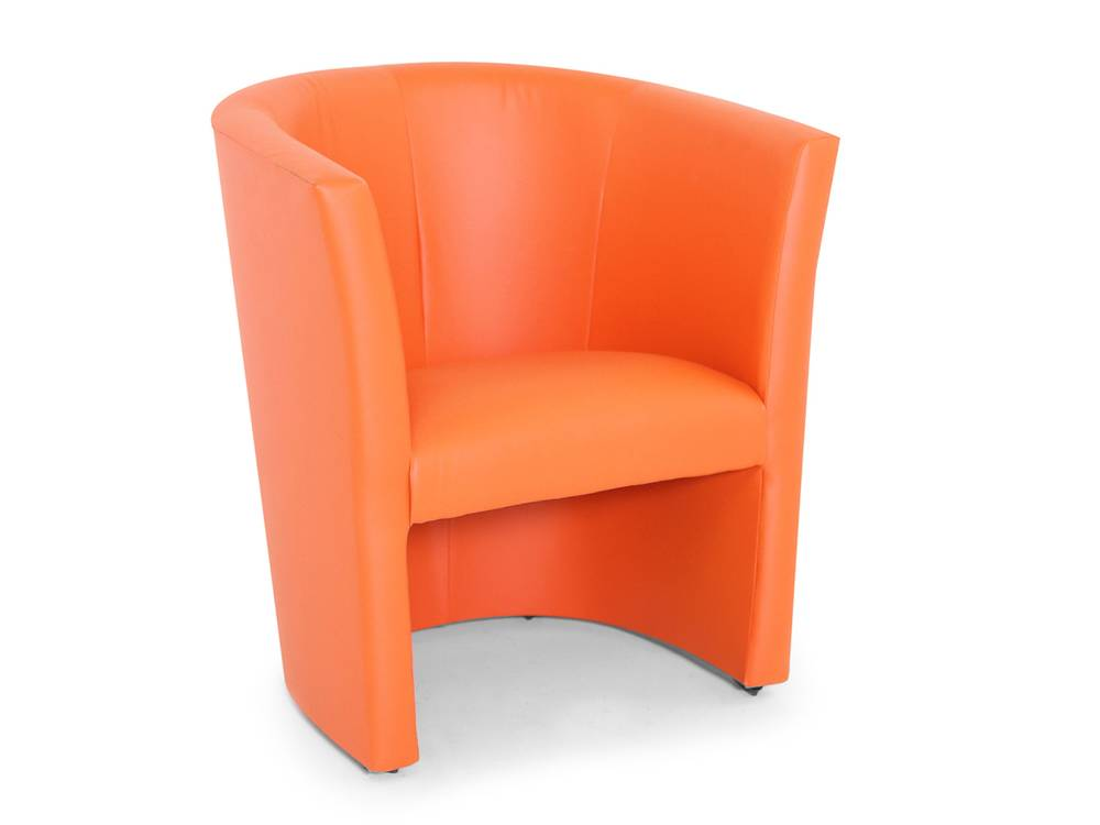 Tv sessel leder orange das beste aus wohndesign und for Sessel orange