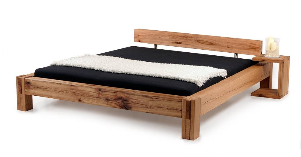 bermuda doppelbett massivholzbett sumpfeiche eiche massiv made in bayern. Black Bedroom Furniture Sets. Home Design Ideas