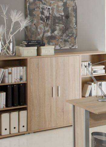 office line aktenschrank kommode schrank b ro b roschrank eiche sonoma unterneukirchen. Black Bedroom Furniture Sets. Home Design Ideas