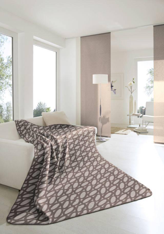 taupe wohnzimmer:taupe wohnzimmer : FantasticSpring Decke ML schnur taupe 150×200 cm