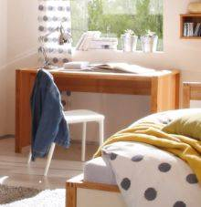 linus schreibtisch erle teilmassiv ge lt. Black Bedroom Furniture Sets. Home Design Ideas