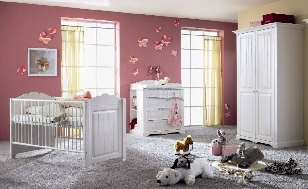 cinderella 3 teiliges komplett babyzimmer kinderzimmer. Black Bedroom Furniture Sets. Home Design Ideas