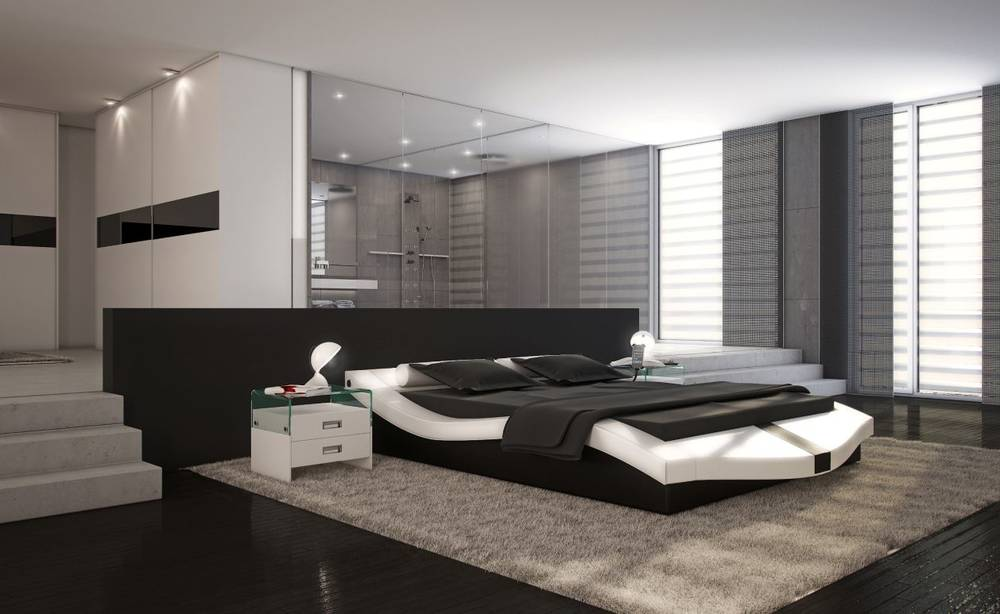 marini doppelbett kunstlederbett designer bett. Black Bedroom Furniture Sets. Home Design Ideas