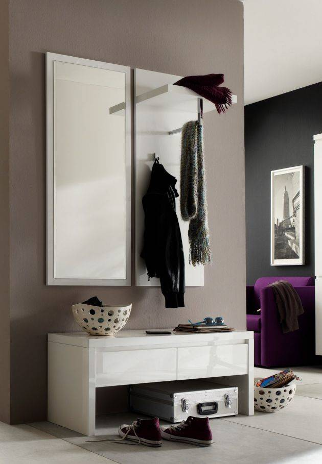 sintia iv garderobe wei hochglanz. Black Bedroom Furniture Sets. Home Design Ideas