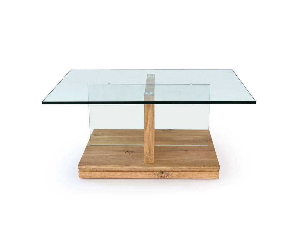couchtisch lenni sicherheitsglas massivholz eiche bianco. Black Bedroom Furniture Sets. Home Design Ideas