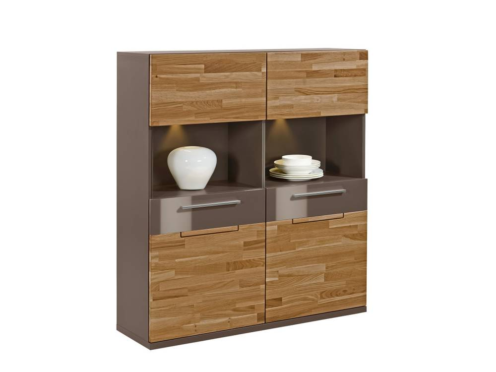 arte m feel highboard 2 t ren cubanit eiche. Black Bedroom Furniture Sets. Home Design Ideas