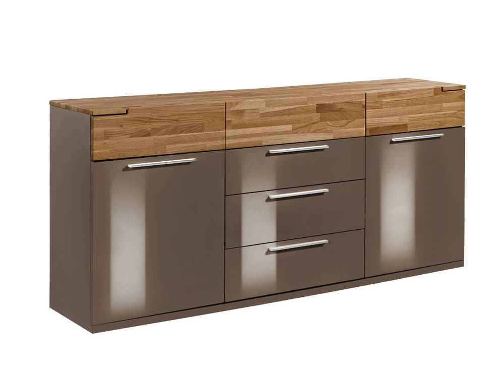 arte m feel sideboard 2 t ren und 6 schubk sten cubanit eiche. Black Bedroom Furniture Sets. Home Design Ideas