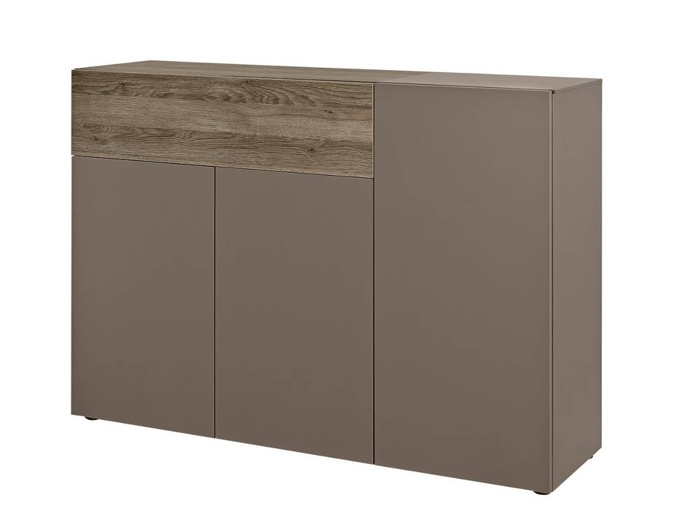 arte m beam k kommode 3 t ren 1 schublade cubanit eiche dunkel. Black Bedroom Furniture Sets. Home Design Ideas