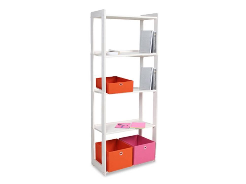 b cherregal regal kieferregal 5 b den kiefer wei. Black Bedroom Furniture Sets. Home Design Ideas