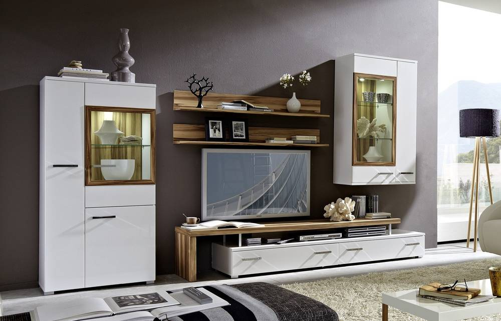 porta wohnwand weiss mit truffel die neuesten innenarchitekturideen. Black Bedroom Furniture Sets. Home Design Ideas