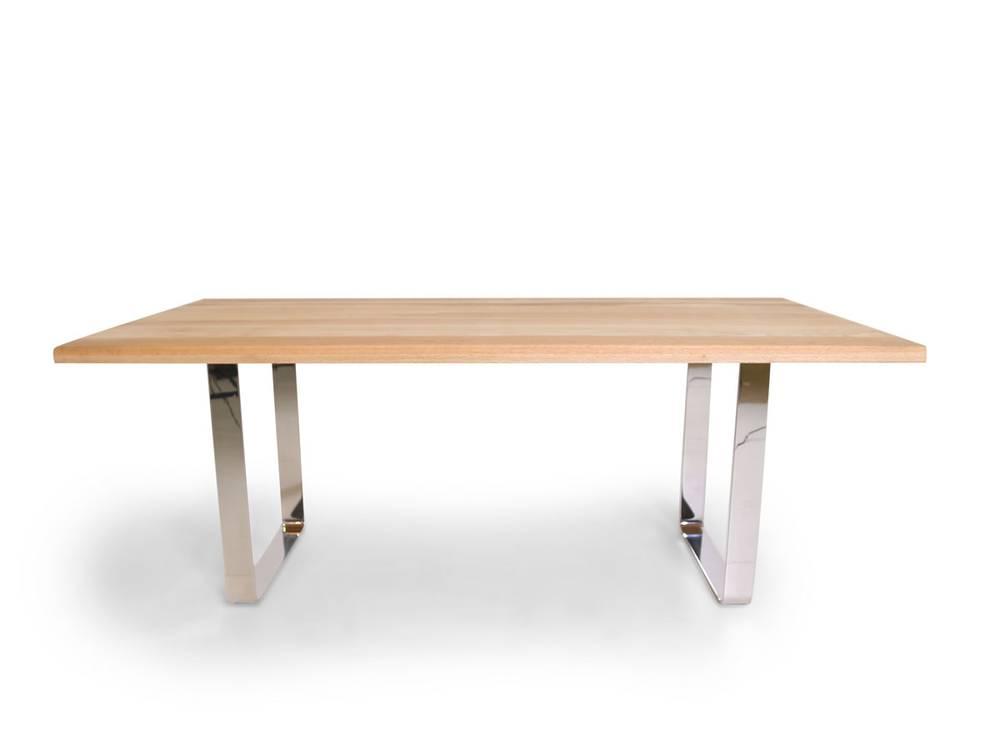 Zweisel esstisch massivholztisch 200x100 cm buche for Esstisch mit kufen