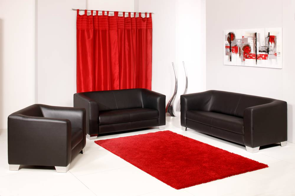 chicago 3 2 1 sofagarnitur couch sessel 2 sitzer 3 sitzer schwarz kunstleder ebay. Black Bedroom Furniture Sets. Home Design Ideas