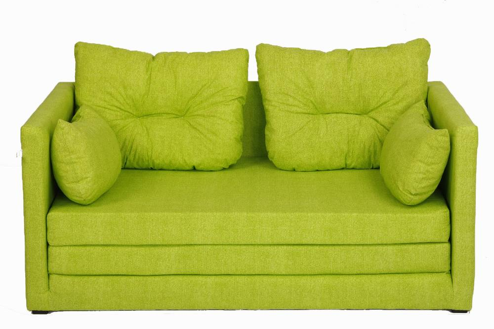 davos sofa trendy sofa sofabed kids sofa sleep function green ebay. Black Bedroom Furniture Sets. Home Design Ideas