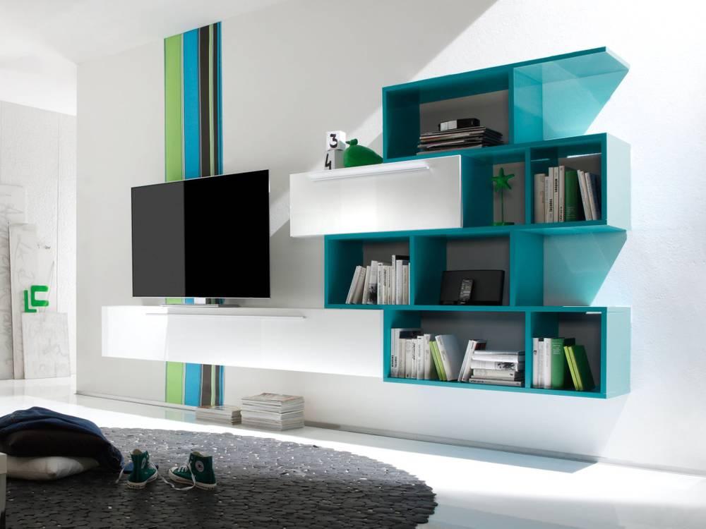 yarial.com = wohnwand modern klein ~ interessante ideen für die ... - Wohnwand Modern Klein