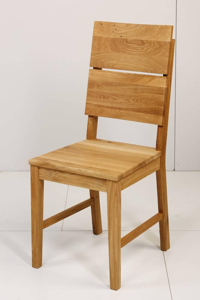 KAI Esszimmerstuhl Massivholzstuhl Stuhl Massivholz Wildeiche massiv lackiert