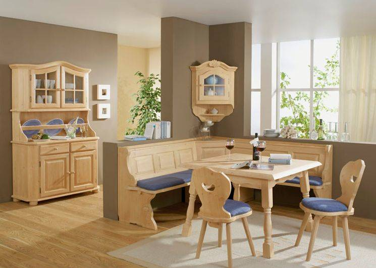 laura essgruppe ii eckbank mit tisch und 2 st hle fichte massiv landhausstil ebay. Black Bedroom Furniture Sets. Home Design Ideas