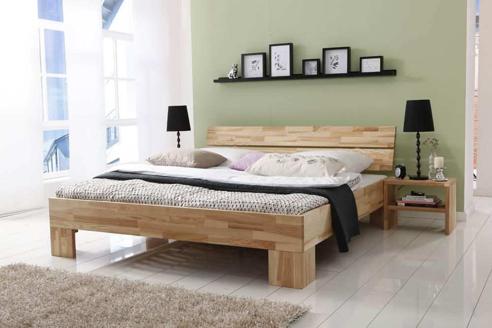l wen woodline bett 180x200 rubin und vital blue. Black Bedroom Furniture Sets. Home Design Ideas