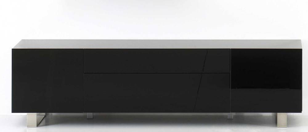 Sideboard kommode lorane hochglanz schwarz for Kommode sideboard schwarz