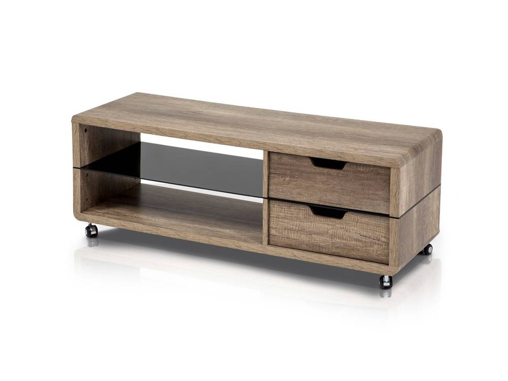 tv schrank eiche grau lowboard hifi m bel fernsehschrank. Black Bedroom Furniture Sets. Home Design Ideas