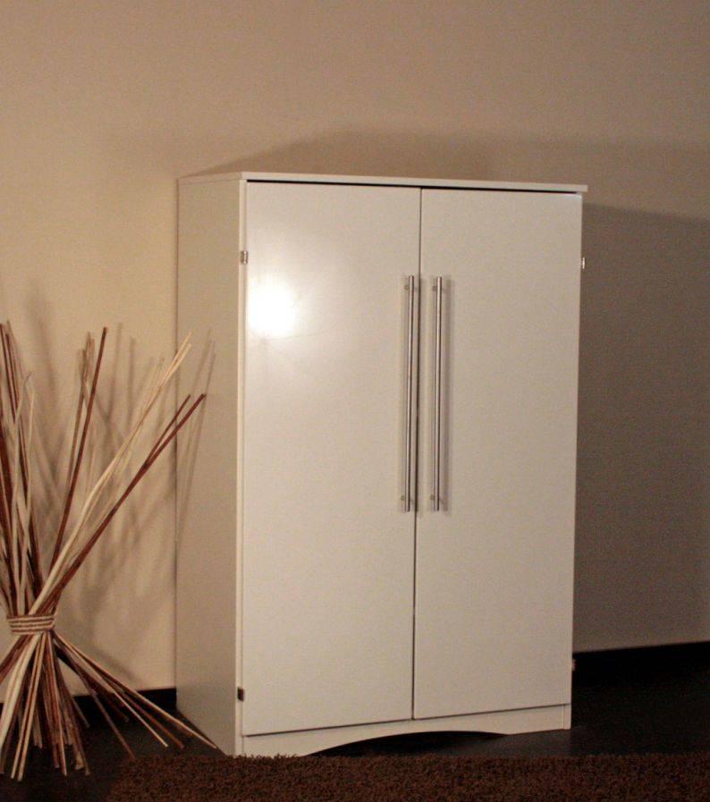 erich pc schrank schreibtisch weiss hochglanz. Black Bedroom Furniture Sets. Home Design Ideas