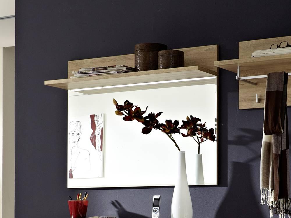 Punkt spiegel mit ablage gardarobenspiegel wandspiegel - Flurspiegel mit ablage ...