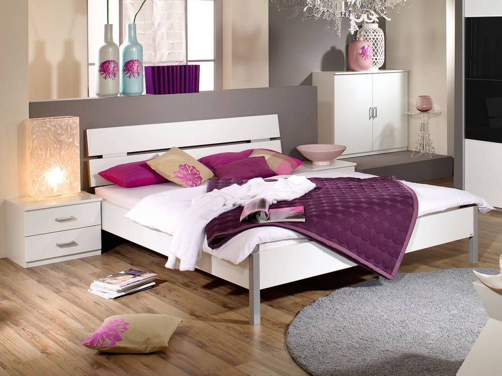 quadra futonbett alpinweiss 140 x 200. Black Bedroom Furniture Sets. Home Design Ideas