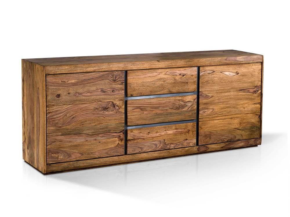 sideboard salsa gro sheesham gebeizt. Black Bedroom Furniture Sets. Home Design Ideas