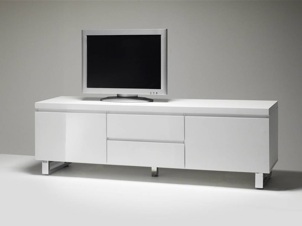 designer lowboard tv schrank sintia 03 hochglanz weiss ebay. Black Bedroom Furniture Sets. Home Design Ideas