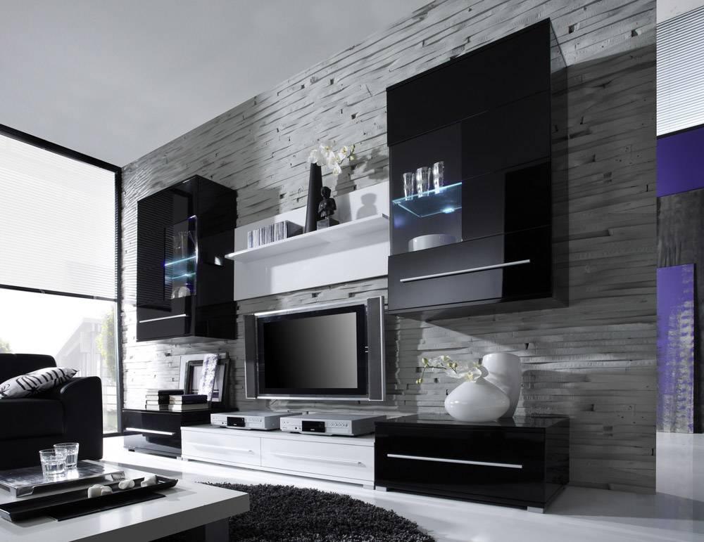 wohnzimmer einrichten grau schwarz | wohnzimmer ideen - Grose Bilder Fur Wohnzimmer