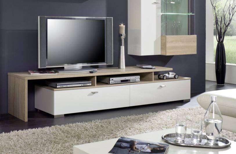 tv m bel wei hochglanz h ngend neuesten. Black Bedroom Furniture Sets. Home Design Ideas