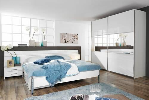 Boreta komplett Schlafzimmer mit Schwebetürenschrank II