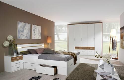 RIXI komplett Schlafzimmer 160 x 200 | 181 cm | ohne Spiegel