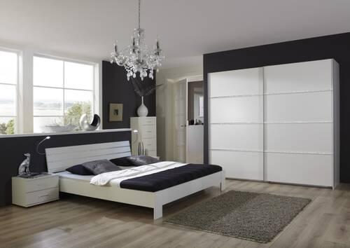BELLINO komplett Schlafzimmer weiß
