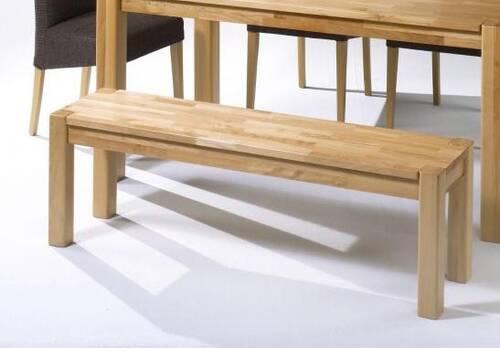 TIMO Sitzbank vollmassiv 160 x 35 cm | Kernbuche | geölt
