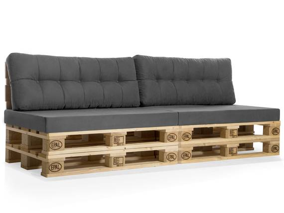 PALETTI Europaletten-Sofa, 3-Sitzer, Fichte massiv natur DETAIL_IMAGE