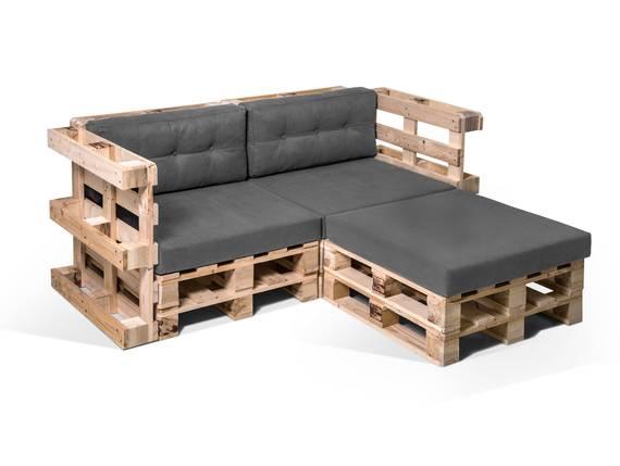 PALETTI Ecksofa 2-Sitzer aus Paletten natur  DETAIL_IMAGE