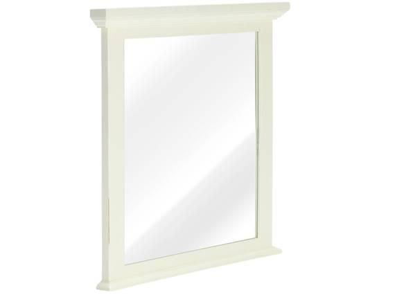 CESI Spiegel 75x70 cm, Rahmen Massivholz, Pinie weiss  DETAIL_IMAGE