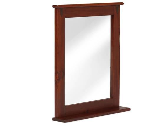 CESI Spiegel 67x78 cm, Rahmen Massivholz, Pinie braun  DETAIL_IMAGE