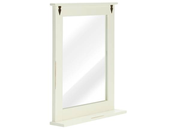 CESI Spiegel 67x78 cm, Rahmen Massivholz, Pinie weiss  DETAIL_IMAGE