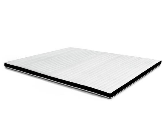 Topper II Viscoschaum, 8 cm, 7-Zonen, mit schwarzem Mesh 160 x 200 cm | Härtegrad 2 DETAIL_IMAGE
