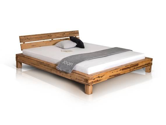ALEX Doppelbett Akazie gebürstet 160 x 200 cm DETAIL_IMAGE