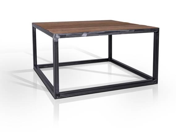 BANDO Couchtisch, Material Massivholz/Metall 80 x 80 cm DETAIL_IMAGE
