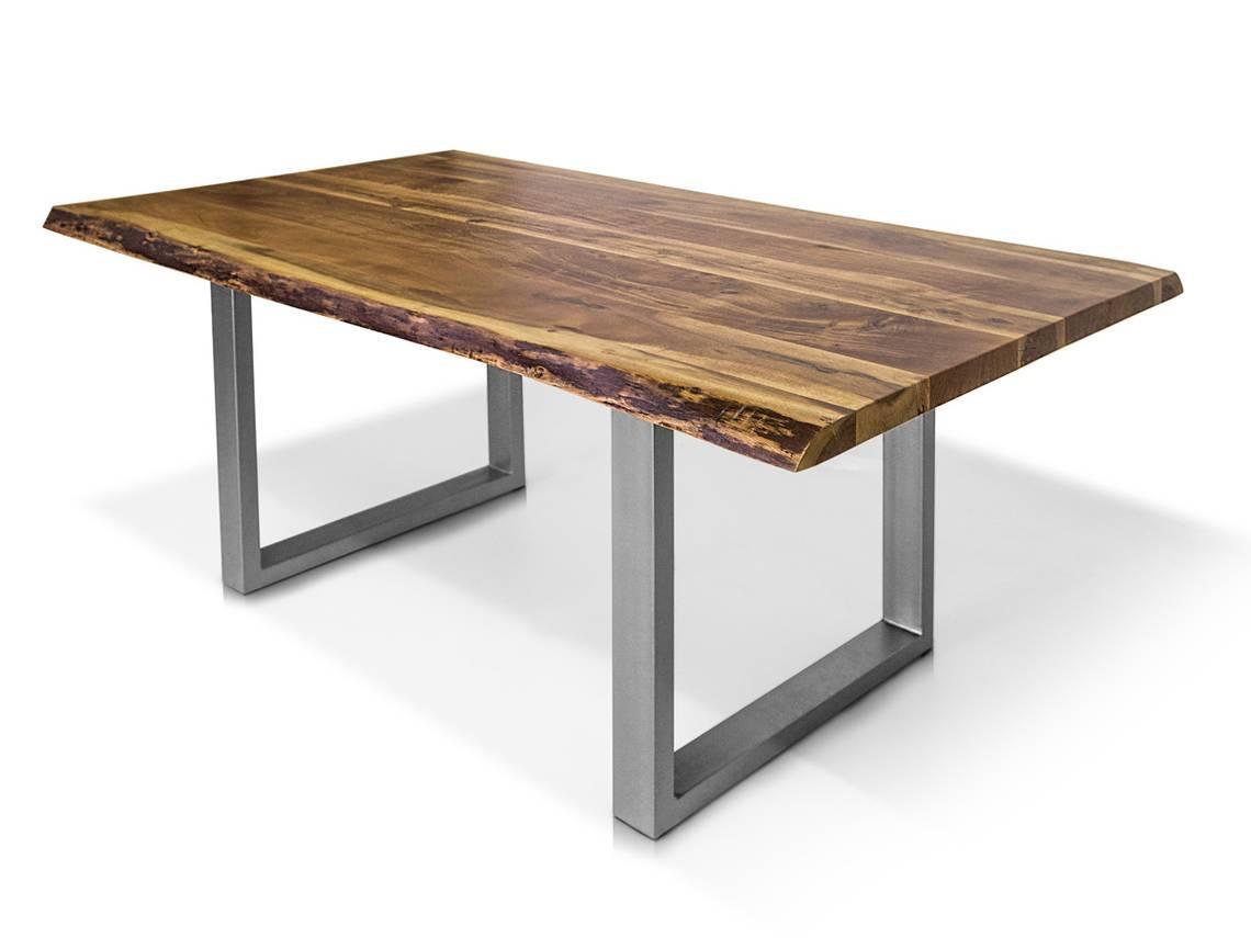 dakota esstisch akazie lackiert metallfu 180 x 100 cm. Black Bedroom Furniture Sets. Home Design Ideas