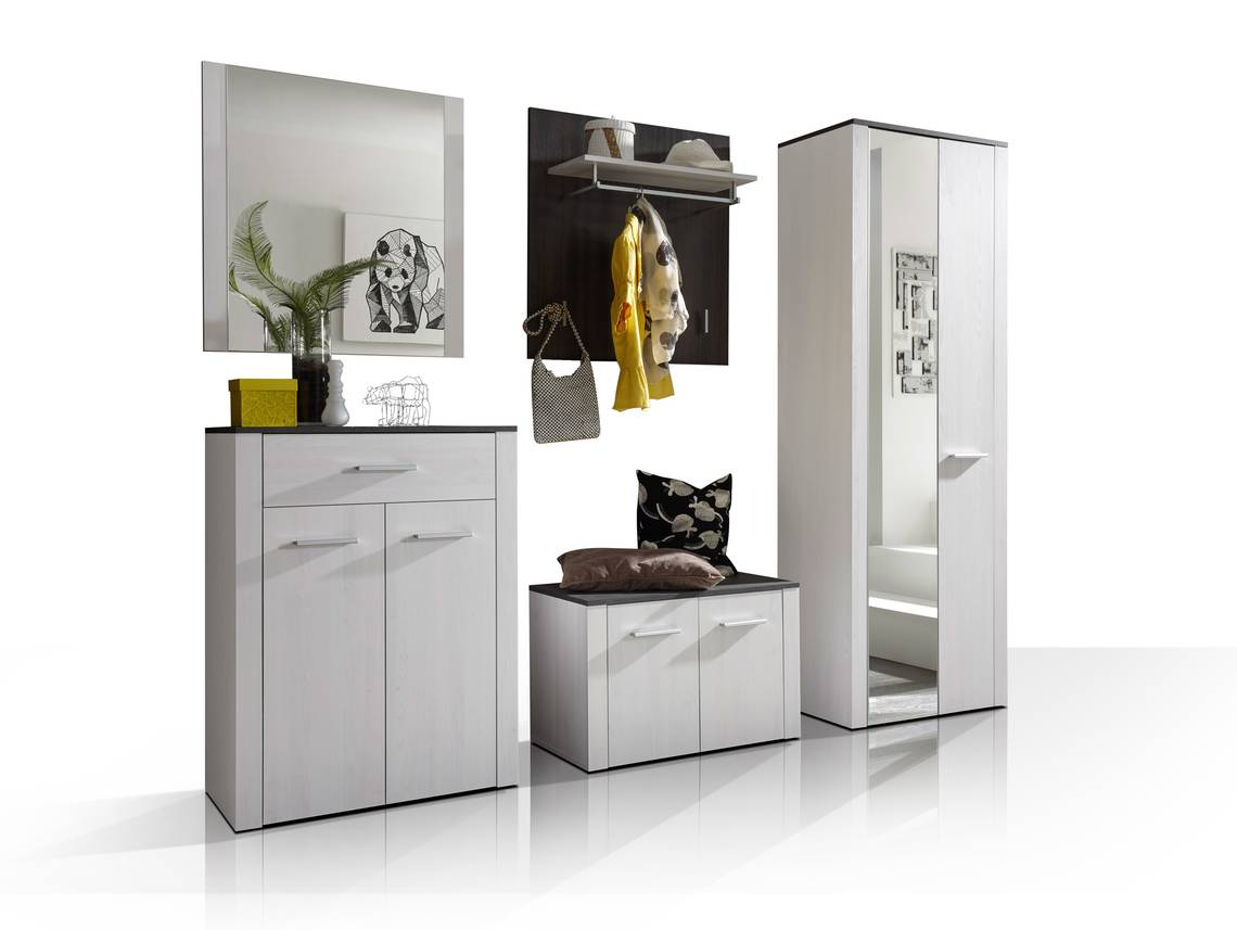 Deria komplett garderobe sibiu l rche touchwood for Garderobe komplett programme